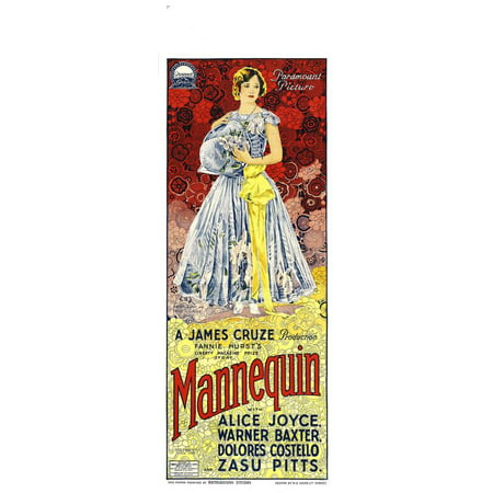 Framed Art For Your Wall Mannequin (1926) Laminated Movie Poster 10x13 Frame