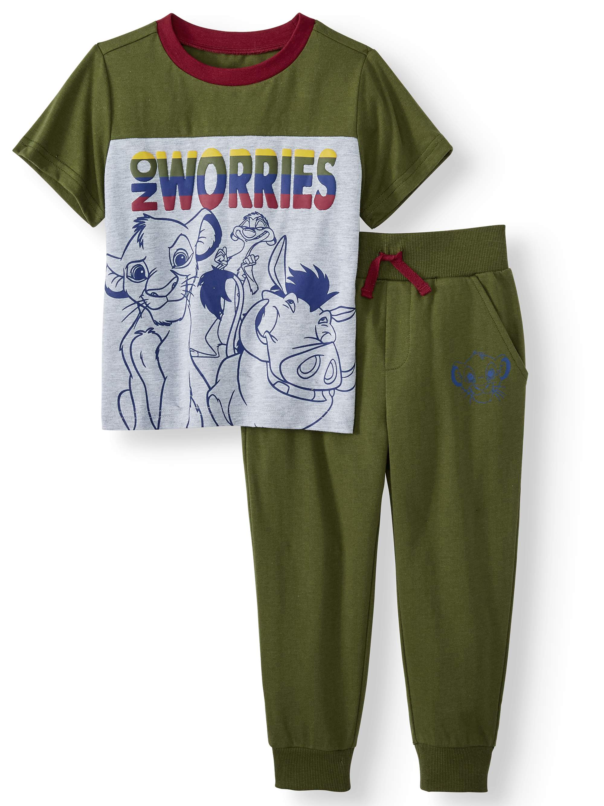 Disney Baby Boy The Lion King Top and Joggers Set