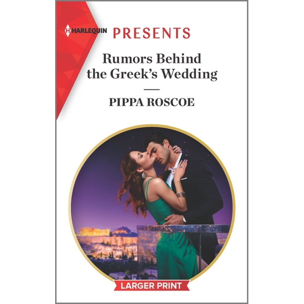 Rumors Behind the Greek's Wedding (Paperback)(Large Print)