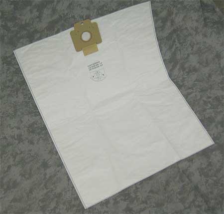 NILFISK 1470746010 Bag, Wet/Dry, Cloth, 4 In., PK 3