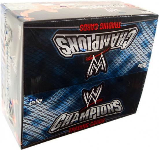 WWE Wrestling 2011 WWE Champions Trading Card Box