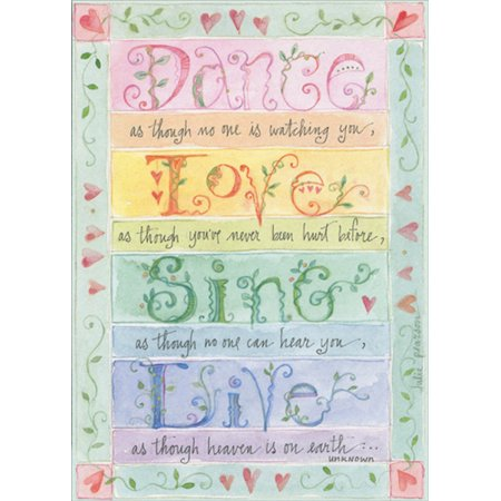 Sudbury Studio Dance, Love, Sing Live Birthday Card (Birthday Card Singing)