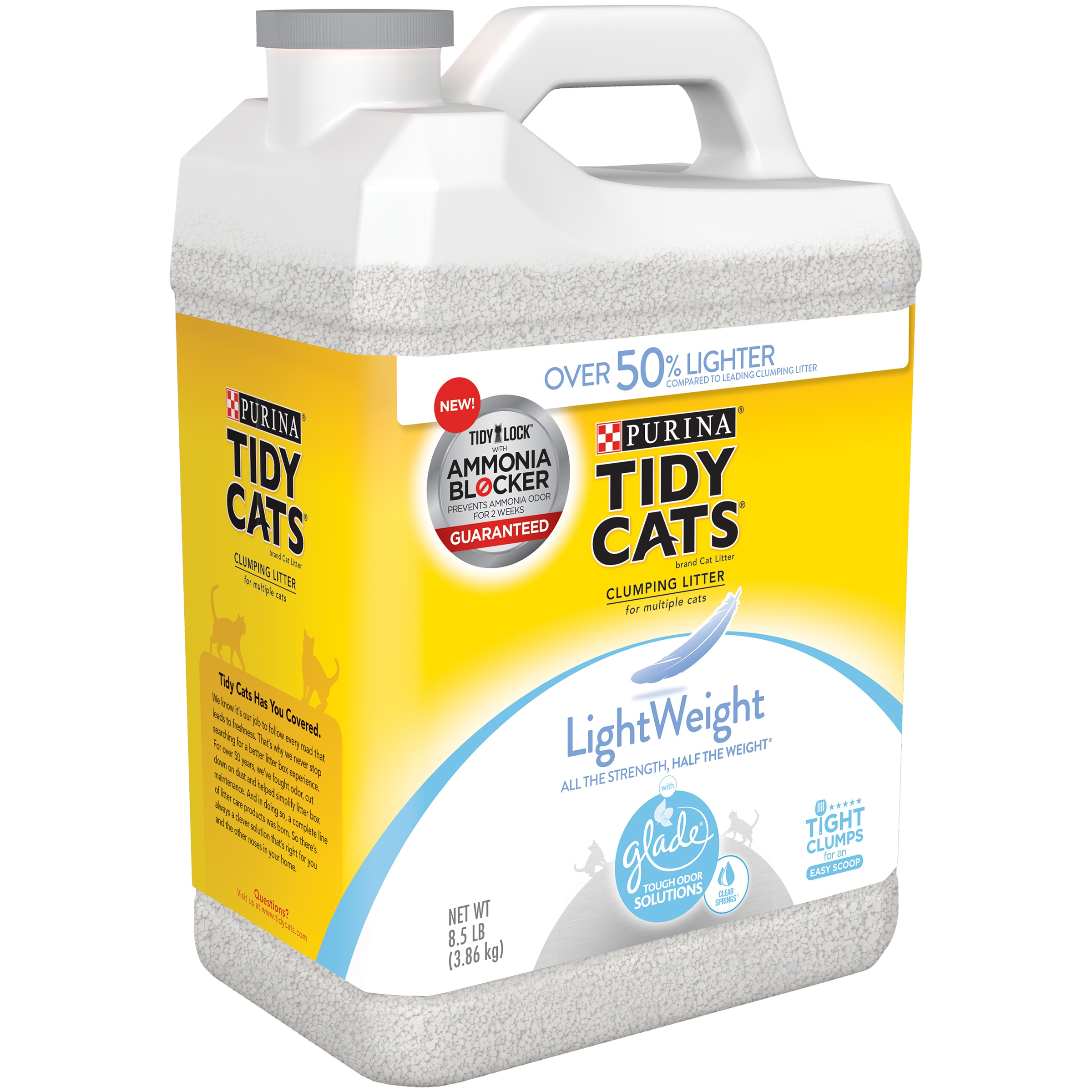 Purina Tidy Cats LightWeight Clumping Cat Litter with