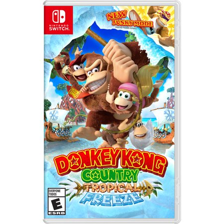 Donkey Kong Country Tropical Freeze Nintendo Nintendo Switch
