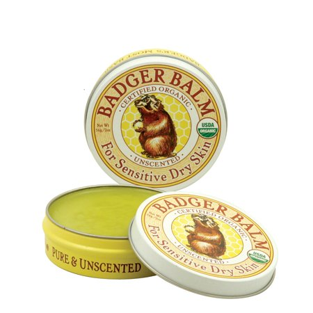 Badger Soothing Balms (Badger Balm Unscented 2 Oz )