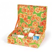 Scent-Sation Kitchen Cucina Furit Themed Tea Storage Box