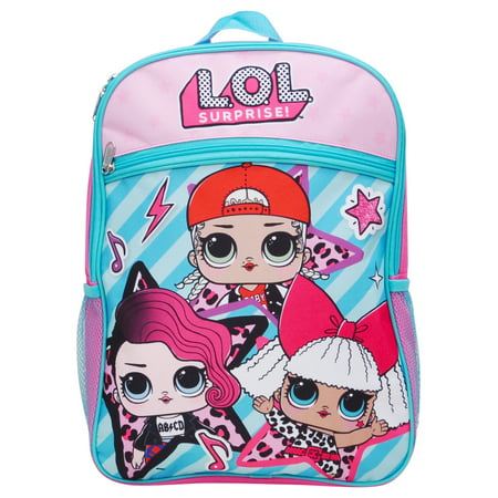 Girls LOL Surprise Superstar Backpack 16