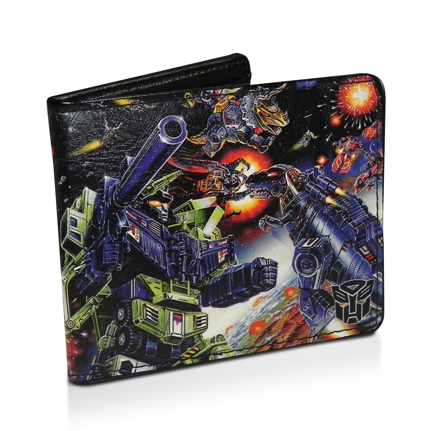 Transformers Black Leather Wallet