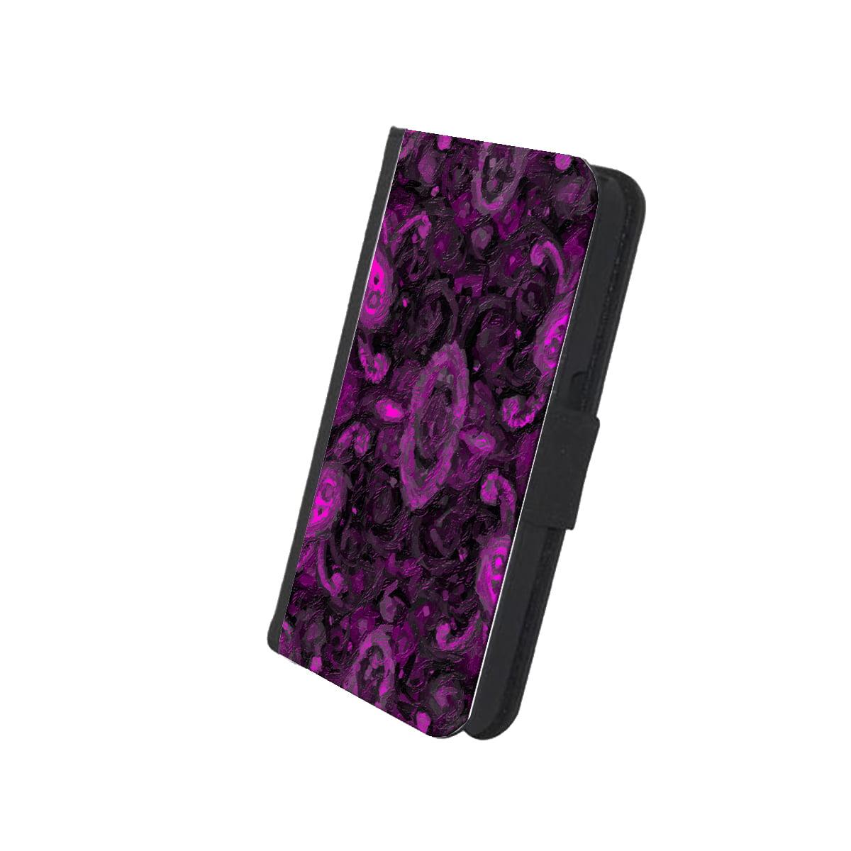 KuzmarK™ Samsung Galaxy S6 Wallet Case - Paisley Pink Painting