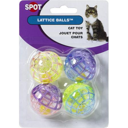 Lattice Balls With Jingle Bells, 4 - Jingle Cat Balls