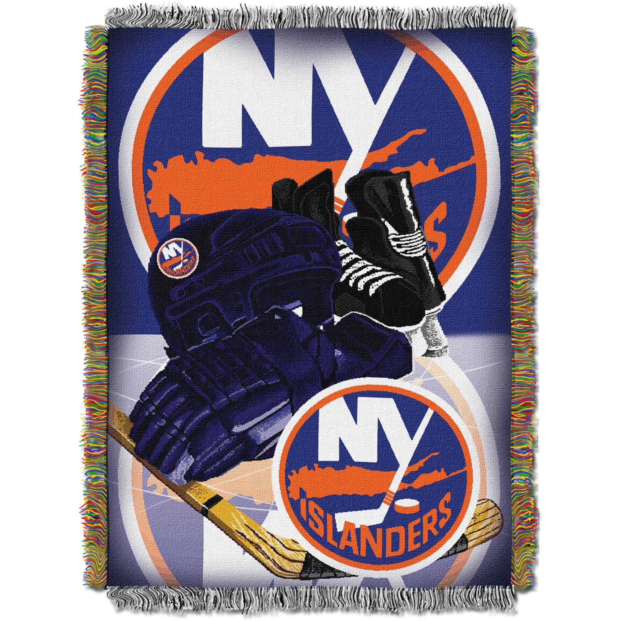"NHL 48"" x 60"" Home Ice Advantage Series Tapestry Throw, Islanders"