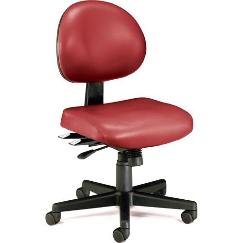 OFM 24 Hour Ergonomic Computer Task Chair in Vinyl, Multiple Colors