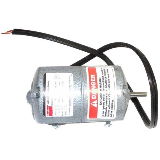 Dayton 2M033A Appliance Tool Motor 1/15-HP 115V 5000RPM Rotation CCW
