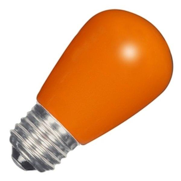 Satco 09173 - 1.4W S14/OR/LED/120V/CD S9173 Sign Scoreboard LED Light Bulb