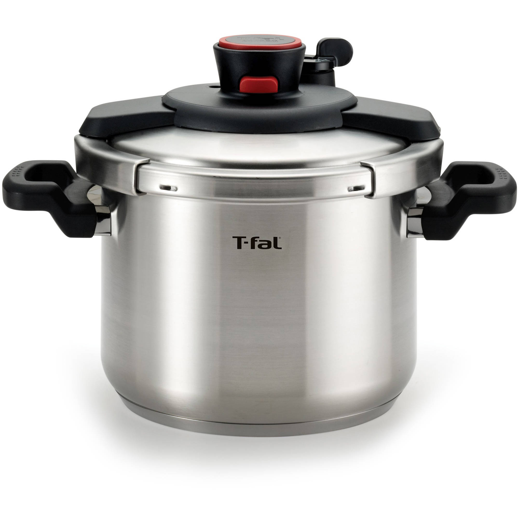 T-fal Clipso Stainless Steel 6.3-Qt Pressure Cooker