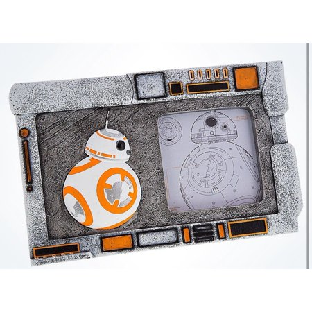 Disney Parks Star Wars Bb 8 Resin Photo Picture Frame New