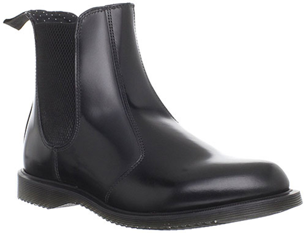 Dr. Martens Flora Pull On Bootie Ankle Boot Chelsea Shoe Womens by Dr. Martens