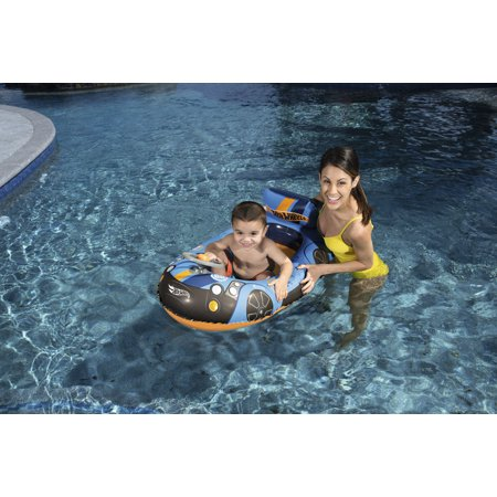 Best Hot Wheels Speed Boat Inflatable Pool Float deal