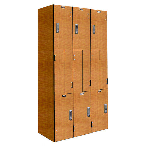 Hallowell VersaMax 2 Tier 3 Wide Phenolic Locker