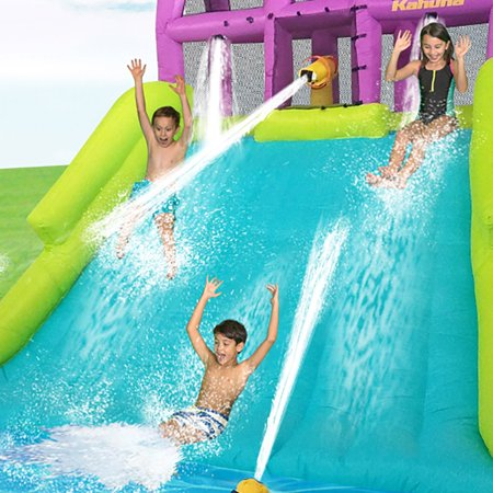 Kahuna Mega Blast Inflatable Backyard Kiddie Pool And