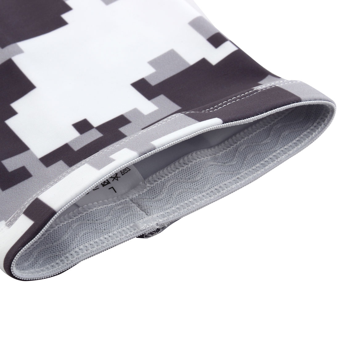 Sports Elbow Brace Wrap Sweat-absorption Arm Sleeves Support Camouflage XL Pair - image 3 of 5
