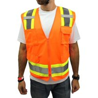 Product Image Medium Surveyor Orange Two Tones Safety Vest  f849fbd8466