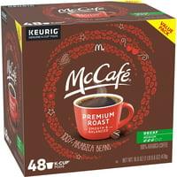 McCafe Premium Roast Decaf Coffee K-Cup Pods, Decaffeinated, 48 ct - 16.6 oz Box