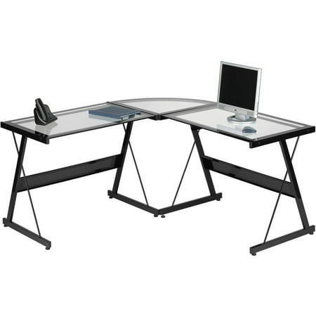 Santorini L-Shaped Computer Desk, Multiple Colors