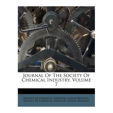 Journal of the Society of Chemical Industry, Volume (Journal Of The Society Of Chemical Industry)