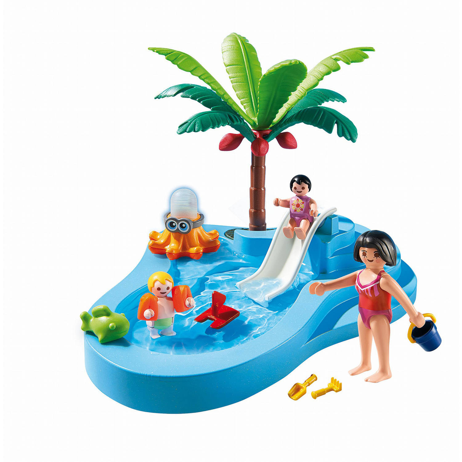 Superior PLAYMOBIL Baby Pool With Slide Playset