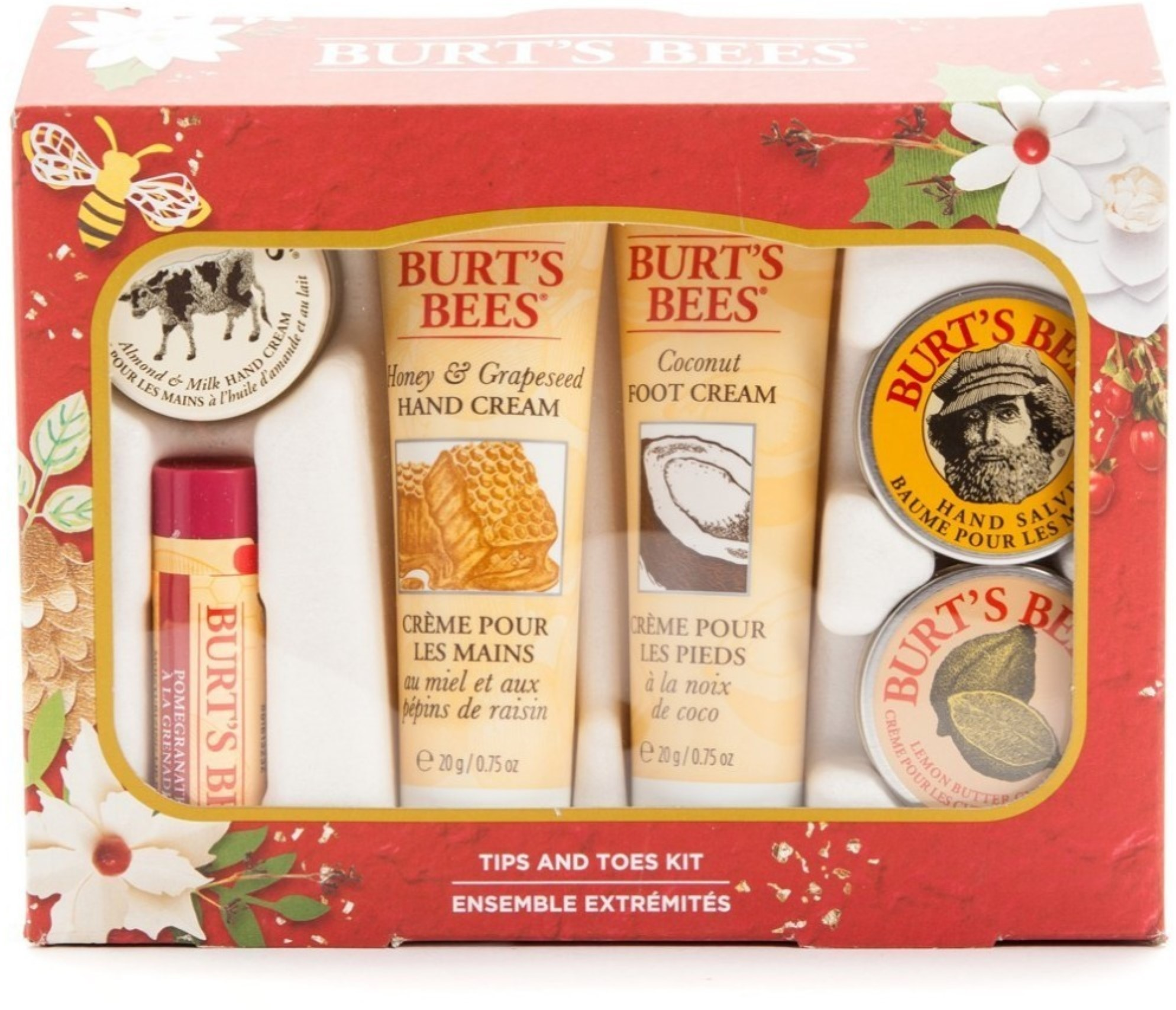Burts Bees Tips And Toes Kit 1 ea (Pack of 3) Helena Rubinstein - Collagenist V-Lift Tightening Replumping Cream (Dry Skin) -50ml/1.72oz