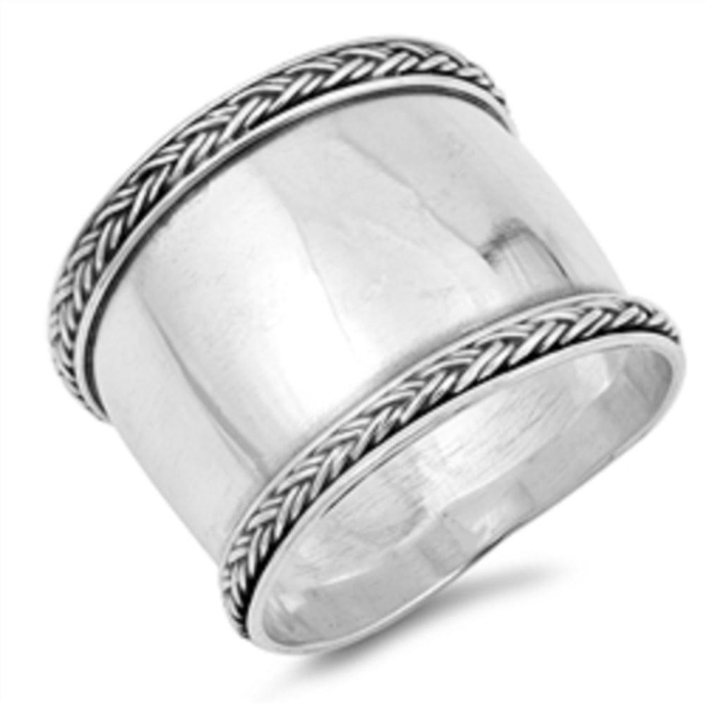 Princess Kylie 925 Sterling Silver Reindeer Design Ring