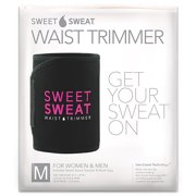 Sports Research Sweet Sweat Waist Trimmer, Medium, Black & Pink, 1 Belt