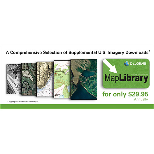 DeLorme Map Library Subscription Card for Topo USA 8.0 and Earthmate PN Series GPS Navigators