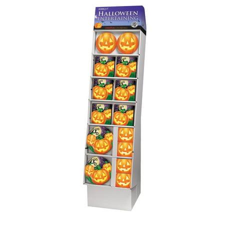 Pack of 140 Purple and Orange Halloween Themed Party Floor Display - Halloween Film Theme