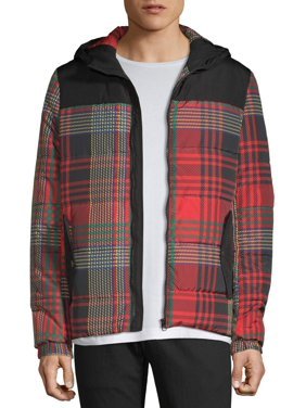 American Stitch Plaid Puffer