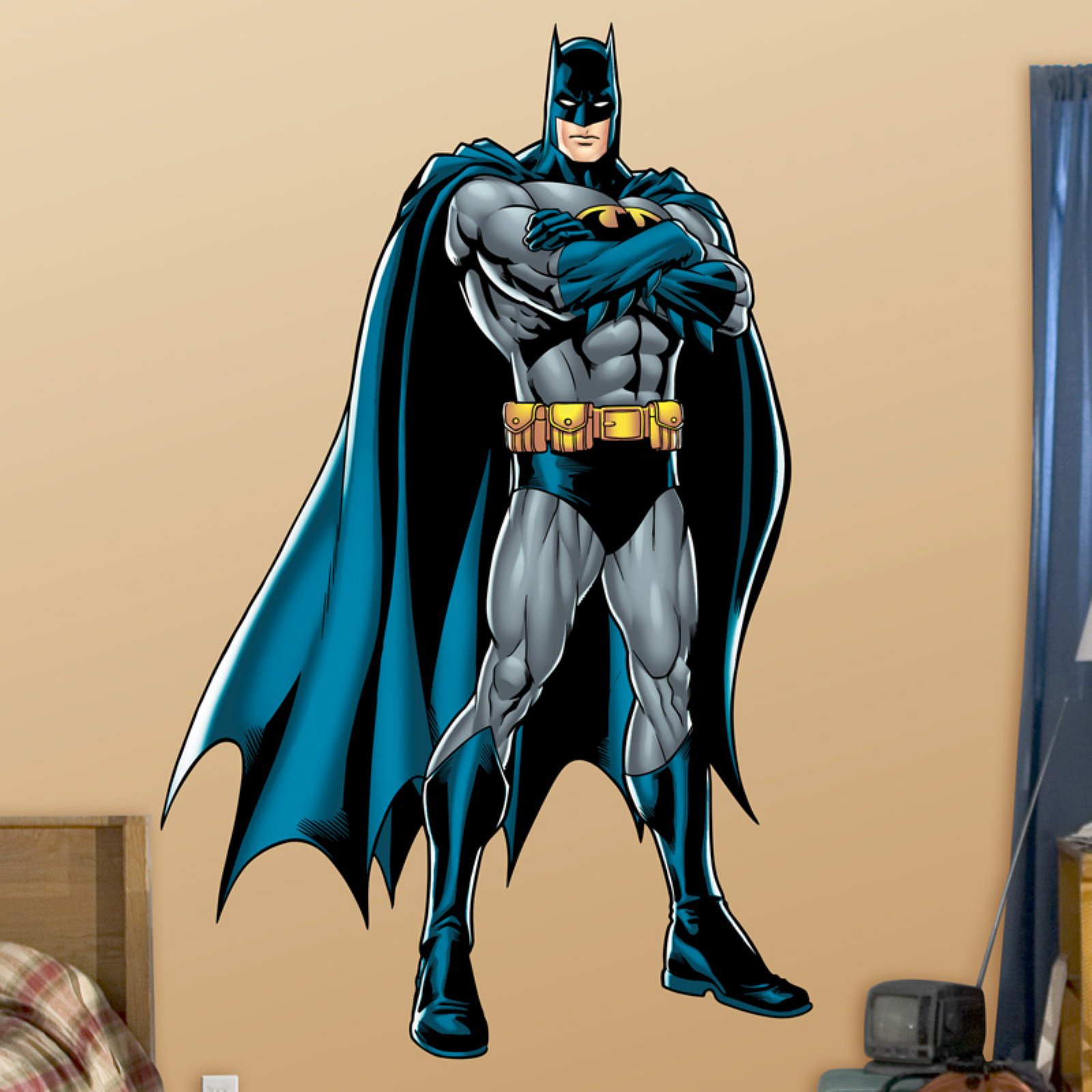 DC Batman Justice League Wall Decal