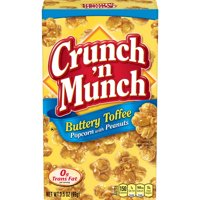 (Price/CASE)Crunch N Munch 6414410625 Crunch N Munch Buttery Toffee Popcorn With Peanuts Case