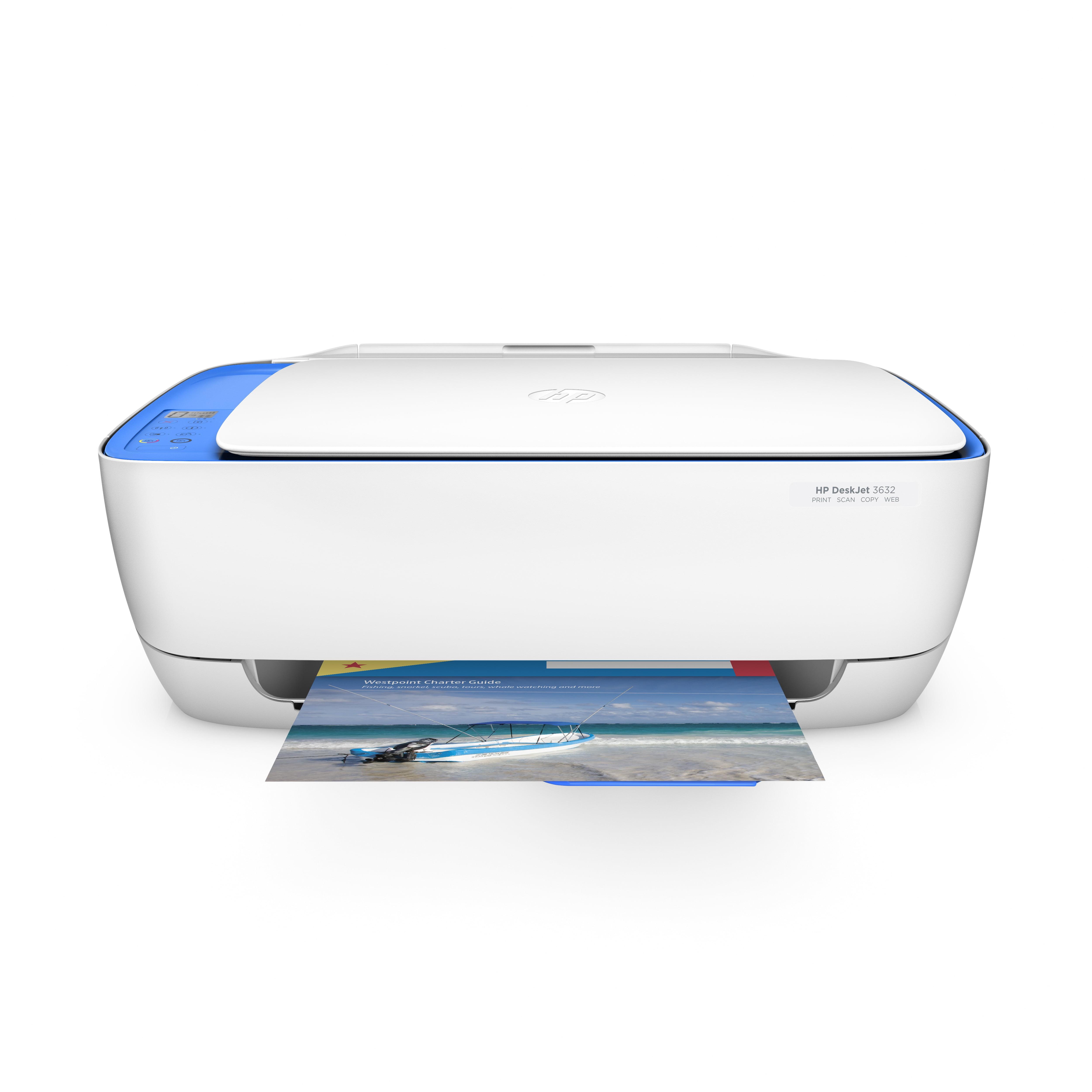 HP DeskJet 3632 All-in-One Wireless Printer/Copier/Scanner (F5S47A)