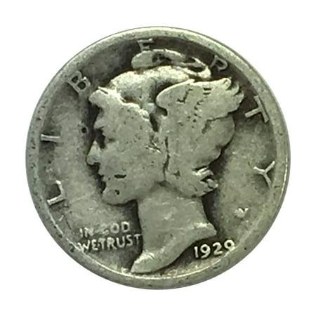 Mercury Coin Set ($5 Face Value 90% Silver Mercury Dimes Circulated Condition)