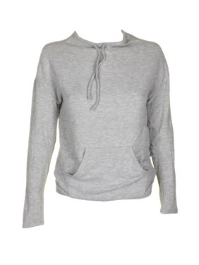 f27f0a78905d Product Image Guess Juniors Light Grey Long-Sleeve Funnel-Neck Active  Sweater XS