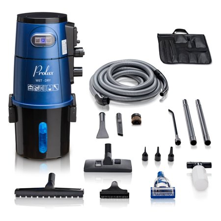 Prolux Professional Shop Blue Wall Mounted Garage Vac Wet