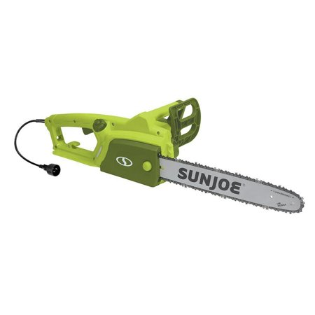 Sun Joe SWJ700E 14 Amp 16 in. Electric Chain Saw with Kickback Brake