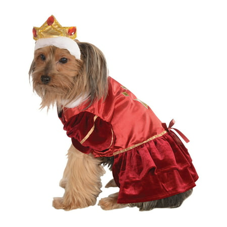 Kanine Queen Royal Princess Pet Dog Puppy Red Halloween - Puppy Dog Halloween Makeup