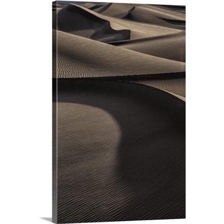 Great Big Canvas Scott Stulberg Premium Thick Wrap Canvas Entitled The Amazing Mesquite Sand Dunes At Death Valley National Park