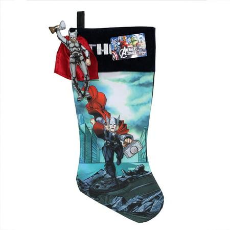 "Holiday Time 19"" Marvel Hulk Stocking - Walmart.com |Marvel Stockings"