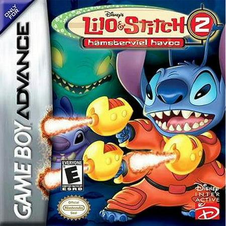 Disney's Lilo & Stitch 2: Hämsterviel Havoc - Nintendo Gameboy Advance GBA (Refurbished) (Lilo And Stitch Halloween Games)