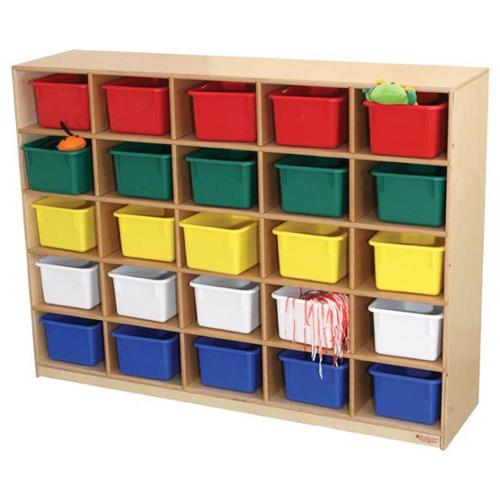 Wood Designs 16009 - 25 Tray Storage Cabinet Without Trays