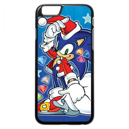 sonic the hedgehog on the board iphone case
