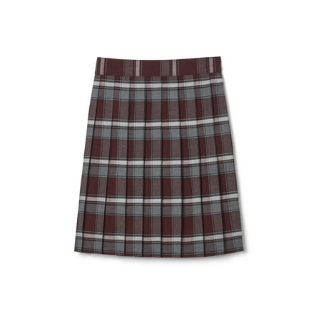 French Toast Girls School Uniform Adjustable Waist Mid Length Plaid Pleated Skirt (Little Girls & Big Girls) Little School Girl